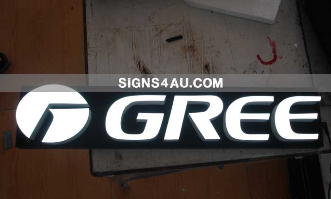 LED Epoxy Resin Front-lit Trade Show Signs » LED Epoxy Resin